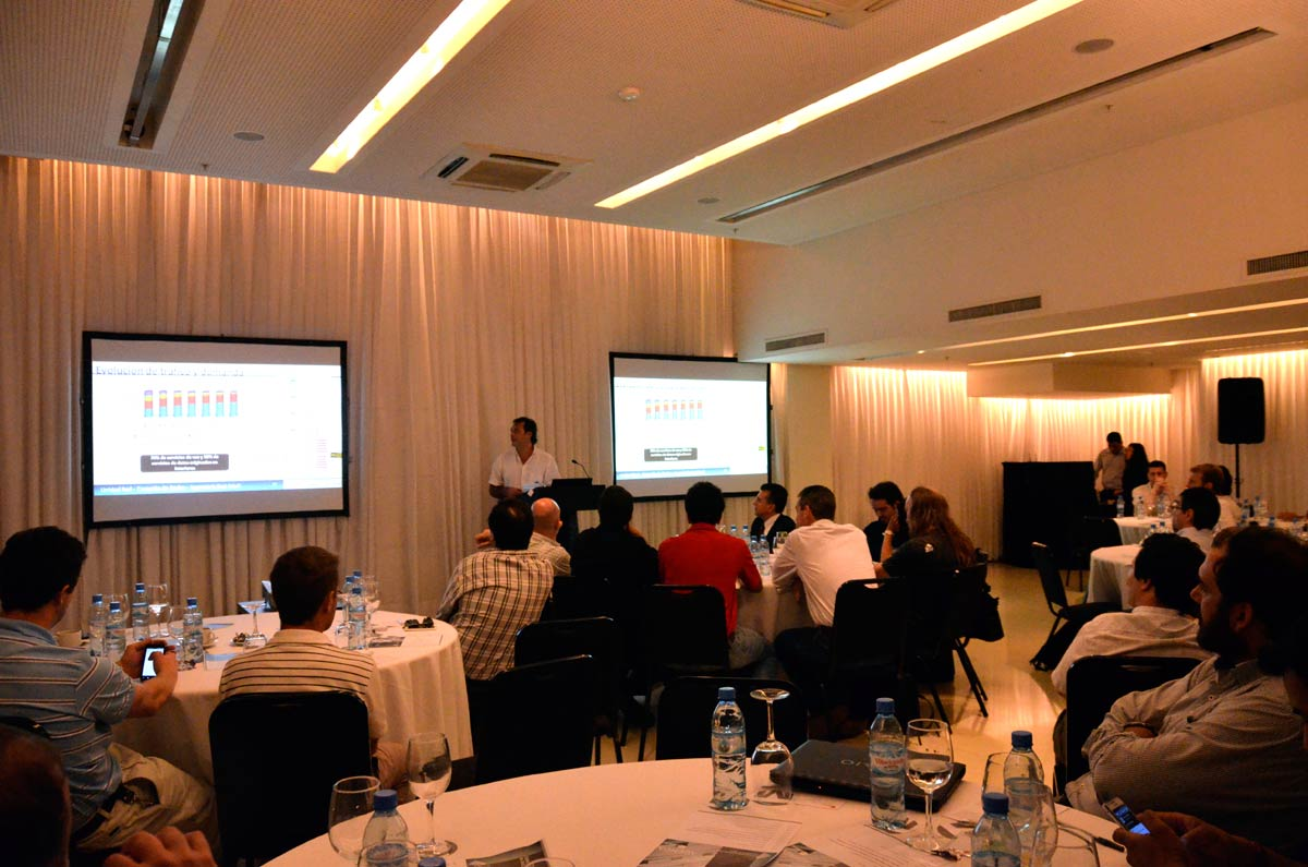 It took 50 to tango at our in building seminar in buenos for Indoor network design