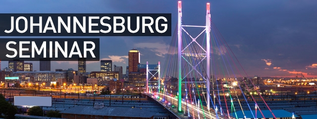 Johannesburg in January – Our Seminar Recap!