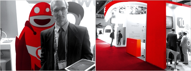 MWC Day 2 – Meetings & Presenting at the Small Cell Zone