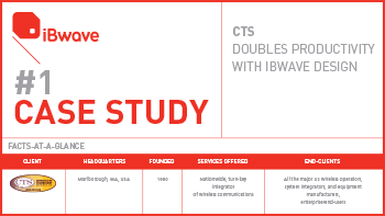 Case Study - CTS Doubles Productivity with iBwave Design