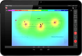 iBwave Mobile Planner reduces the amount of manual work required on a site survey, and complete a full design on-site