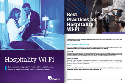 Download eBook on Wi-Fi Best Practices in Hospitality