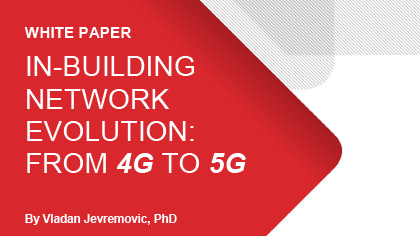 White Paper - In-Building Network Evolution: from 4G to 5G