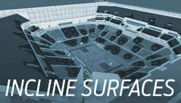 design your wireless network with incline surfaces