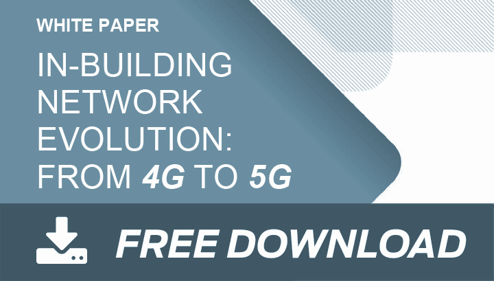 In-Building Network Evolution: From 4G to 5G