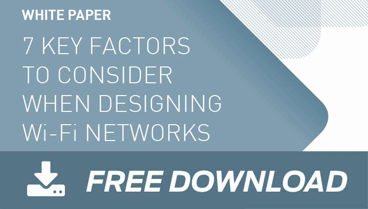 best practices for Wi-Fi network design