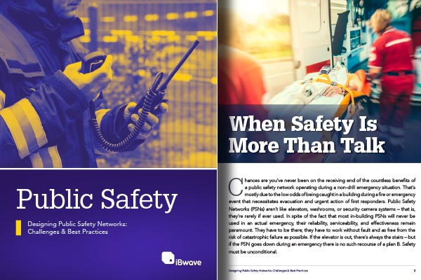 eBook: Designing Public Safety Networks