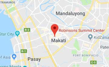 Map of Philippines Makati City office