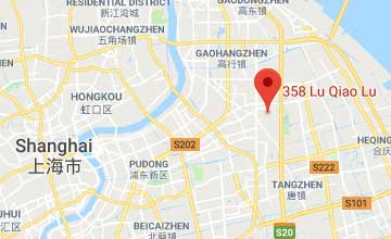Map of China Shanghai office