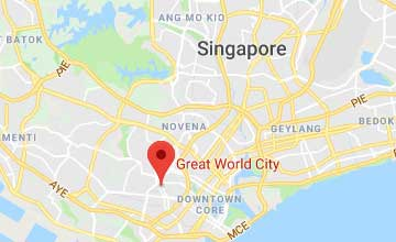 Map of Singapore office