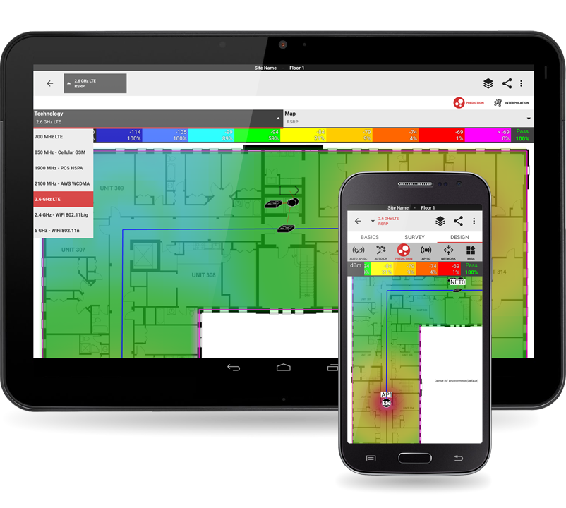Ibwave mobile automate your site survey process ibwave for Mobelplaner software