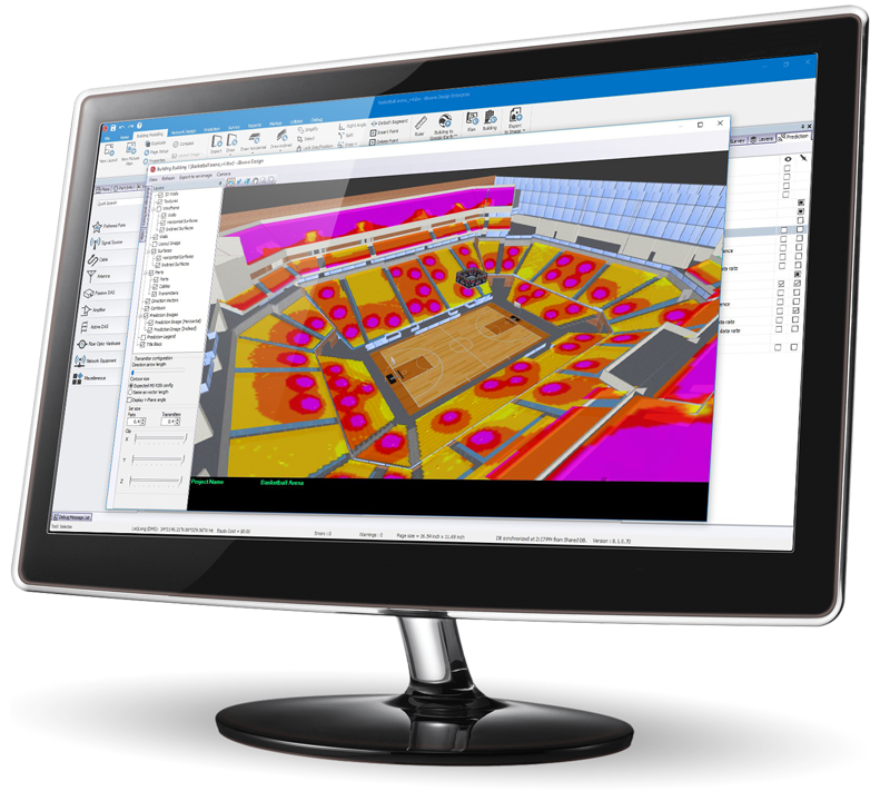 A powerful cloud-connected 3D Wi-Fi planning and design software: iBwave