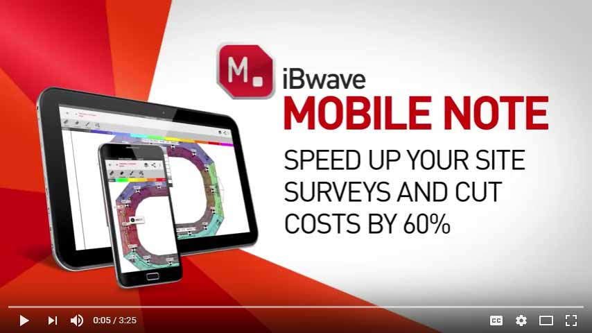 iBwave MOBILE NOTE