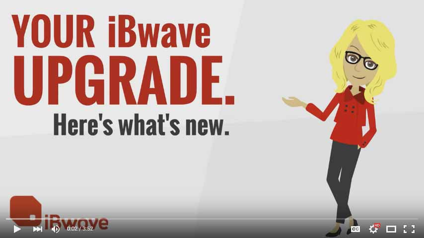 WHAT'S NEW: iBwave DESIGN + iBwave MOBILE NOTE & PLANNER