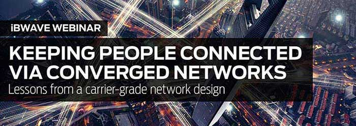 Keeping people connected via converged networks