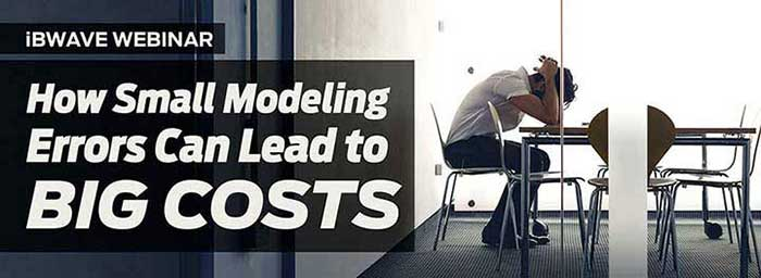 How Small Modeling Errors Can Lead to Big Costs