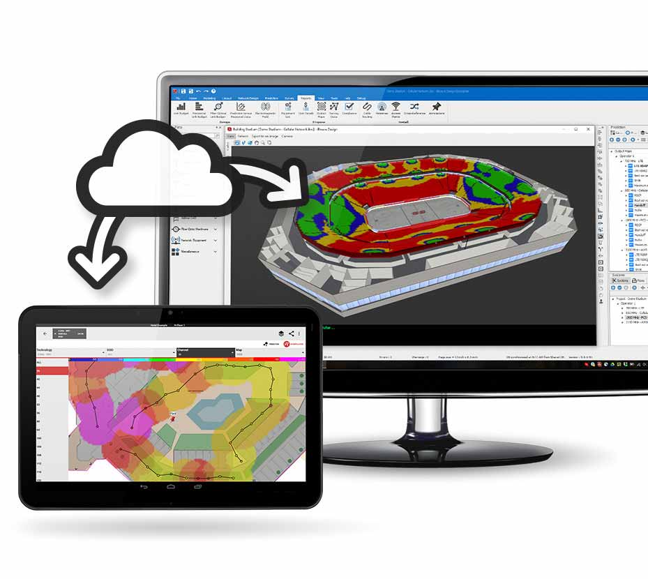 Plan, design and manage all your indoor wireless network technologies with one software.