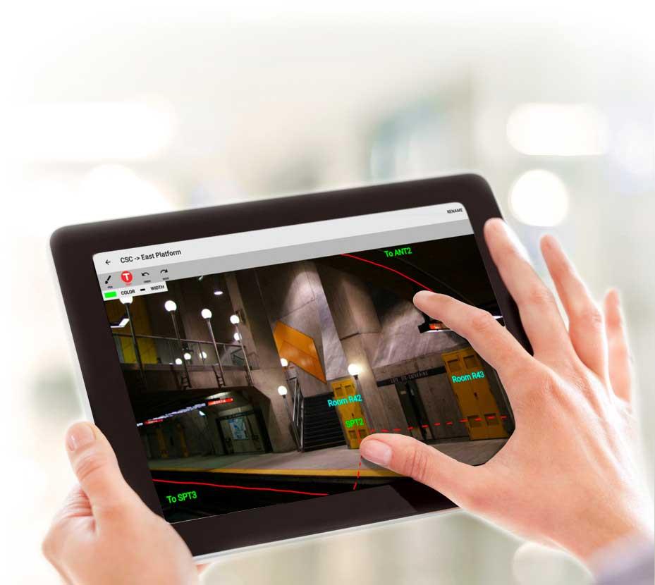 Streamline site surveys with iBwave Mobile Planner