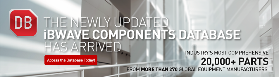 The Newly Updated iBwave Components Database Has Arrived!