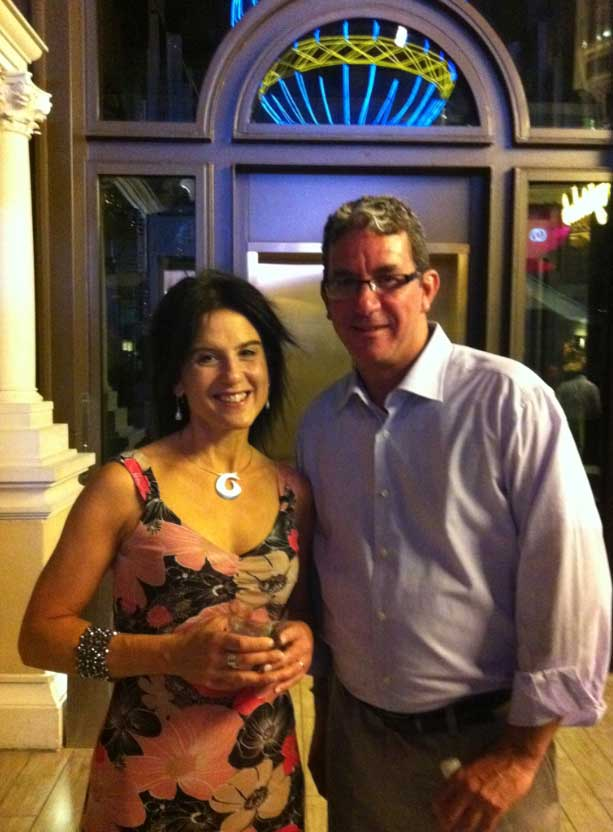 Nathalie Robitaille of iBwave and Peter Murray of CCI Systems
