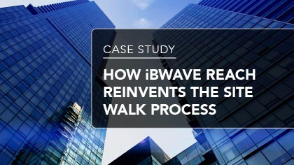 Case Study - How iBwave Beach reinvents the site walk process