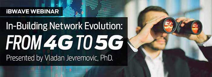 In-Building Network Evolution: 4G to 5G