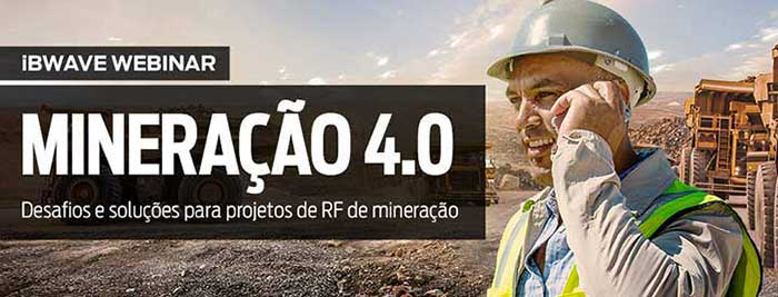 MINING 4.0 - Best practices in RF design for the mining industry (in Portuguese)