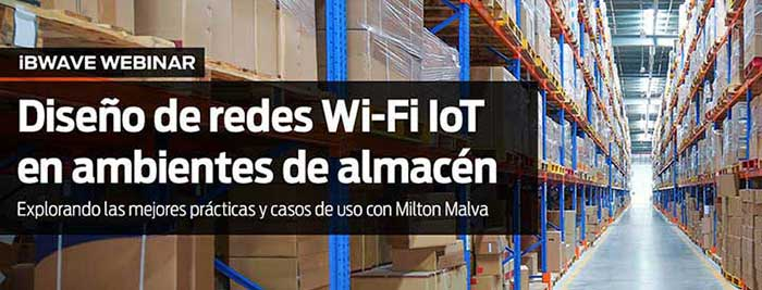 Designing IoT Networks in Warehouse Environments (Spanish)
