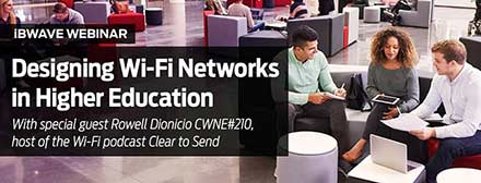Designing Wi-Fi Networks in Higher Education