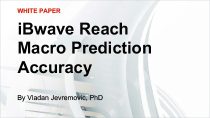White Paper - iBwave Reach Macro Prediction Accuracy