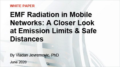 White Paper - EMF Radiation in Mobile Networks: A Closer Look at Emission Limits & Safe Distances