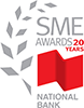 Nationa Bank of Canda SME Awards logo