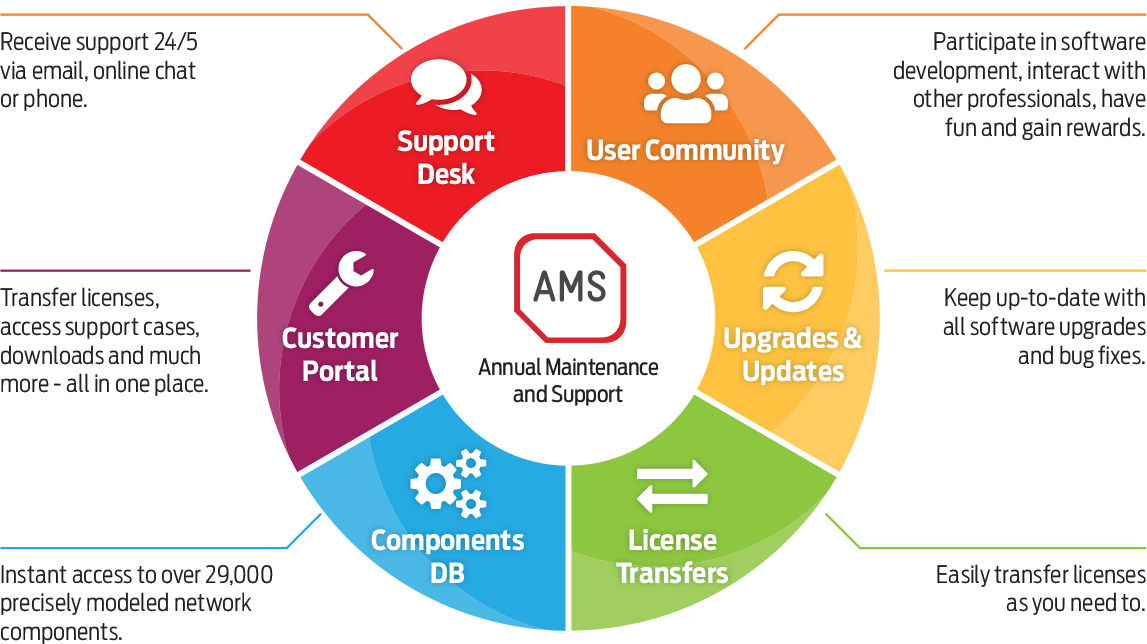 AMS Services Infographic