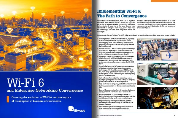 Download eBook on Wi-Fi 6 and Enterprise Networking Convergence