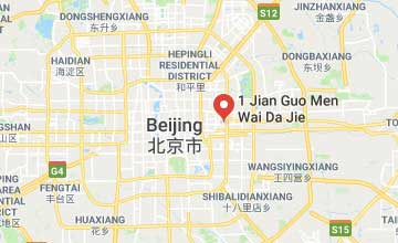 Map of China Beijing office
