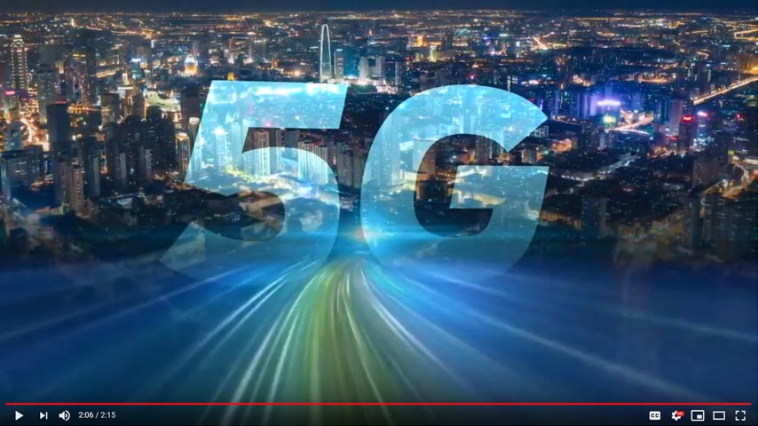 5G is Here. Let's lead the way together!