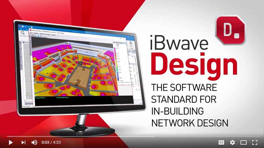 iBwave DESIGN PROMOTIONAL VIDEO