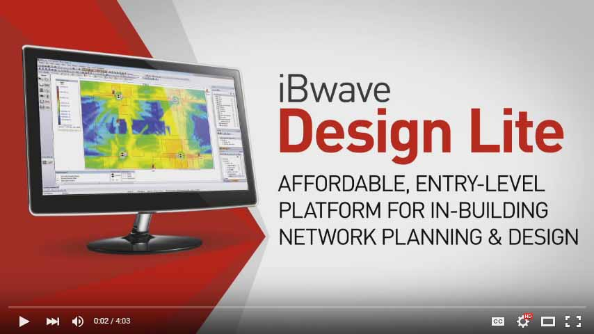 iBwave DESIGN LITE PROMOTIONAL VIDEO