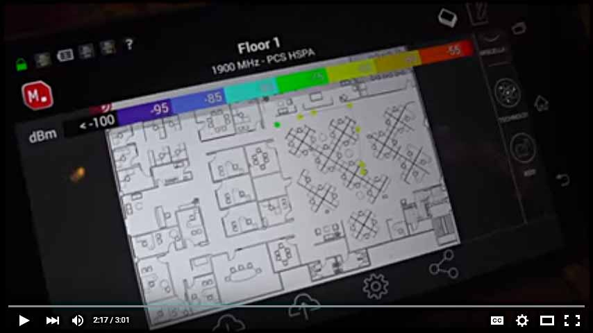 iBwave MOBILE PLANNER WITH NEW RF COLLECTION TOOL INTEGRATION