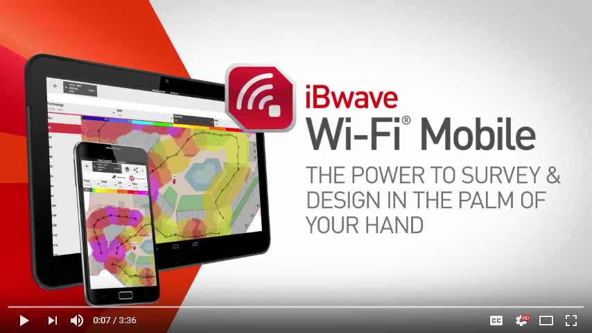 iBwave WI-FI® MOBILE PROMOTIONAL VIDEO