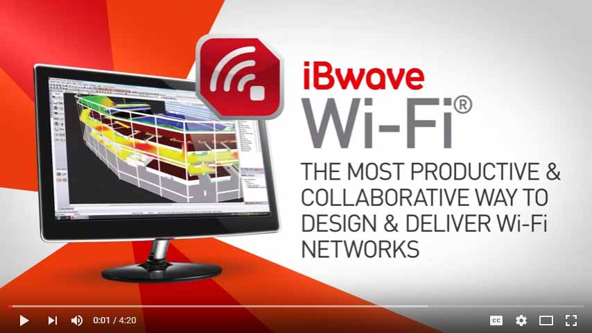 iBwave Wi-Fi®: The most productive & collaborative way to design Wi-Fi networks