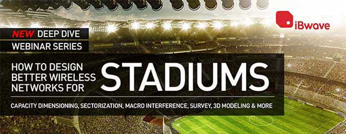 How to Design Better Wireless Networks for Stadiums