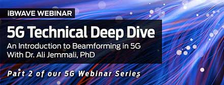 5G Technical Deep Dive: An Introduction to Beamforming in 5G