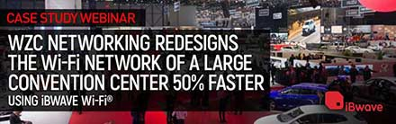 Redesigning a Convention Center Wi-Fi Network 50% Faster Using iBwave Wi-Fi®